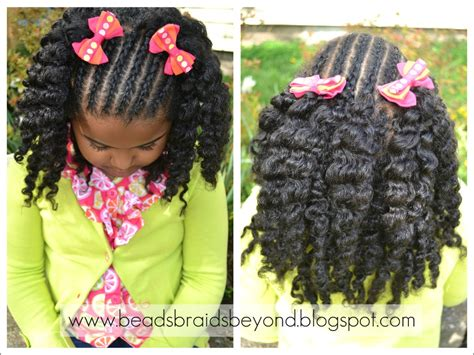 Natural Hair Styles For Little