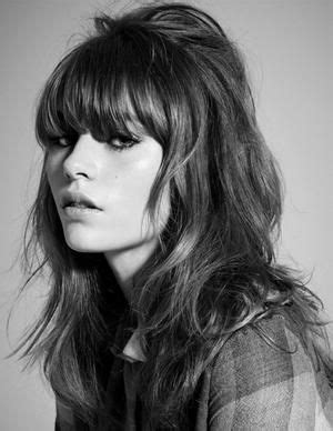 60s Bangs Hairstyles by 60s Inspiration In The Form Of Teased Hair And Eyeliner