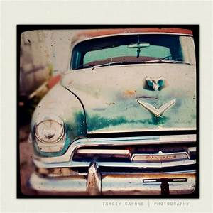 Boys room wall art vintage car photography