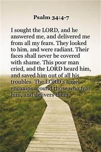Psalm 34:4-7 - Daily Bible Inspirations