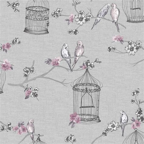 arthouse wallpaper overture lavendar wilko