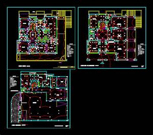 Village Plans Electric In Autocad