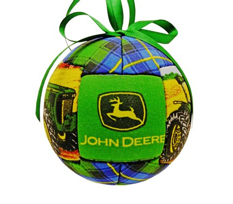 handmade john deere kimekomi quilted holiday by craftcrazy4u