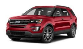 ford explorer curb weight  years  trims