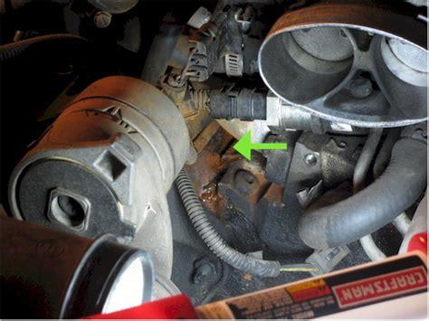 bad intake manifold gasket  blown head gasket