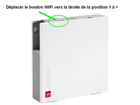 configuration du reseau wifi de la box de sfr