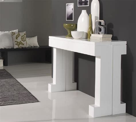 table de cuisine extensible console extensible