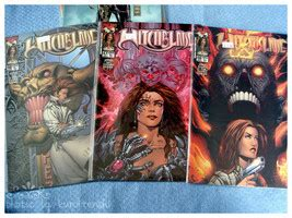 Unopened Witchblade Comic Issues 20, 21, 46-48 - Comics
