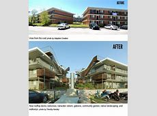 Before and After Scrapbook of ECO Modern Flats