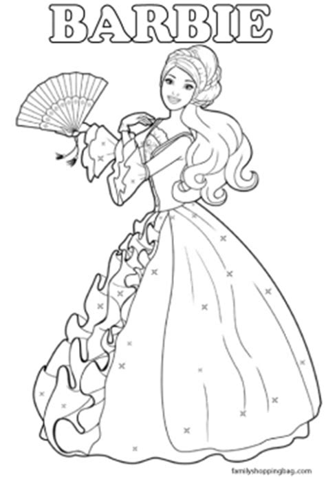 coloring page  barbie coloring pages  printable