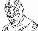 Coloring Pages Wwe Rey Mysterio Printable Superstars Wrestling Drawing Colouring Sheets Drawings Belt Everfreecoloring Mask Thecolor Birthday Bing Try Projects sketch template