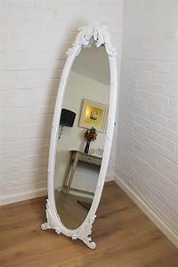 15 Photos Shabby Chic Free Standing Mirror