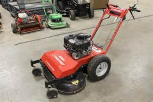 lot 116 troy bilt wide cut walk behind mower