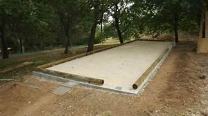 Dimension Terrain De Boule : diy construction d 39 un terrain de p tanque diy ~ Dode.kayakingforconservation.com Idées de Décoration