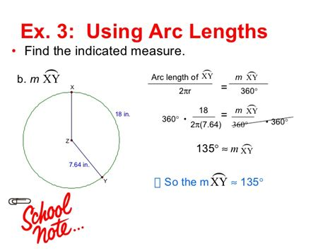 114 Circumference And Arc Length