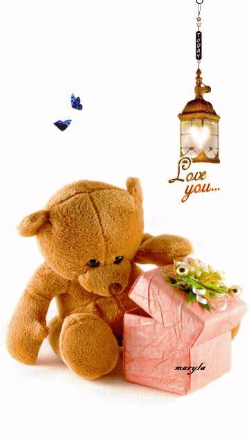 teddy bear gif abba heaven pinterest ours en peluche