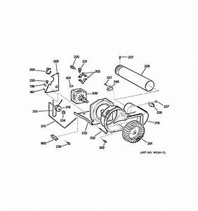 Ge Electric Dryer Blower  U0026 Motor Parts