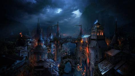 Permalink to Cityscape Wallpaper Dark