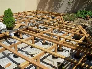 Support Terrasse Bois : principe g n ral de mise en oeuvre d 39 une terrasse en bois ~ Premium-room.com Idées de Décoration