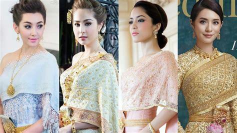 Top 10 Most Beautiful Thai Actresses Wearing Wedding Dress