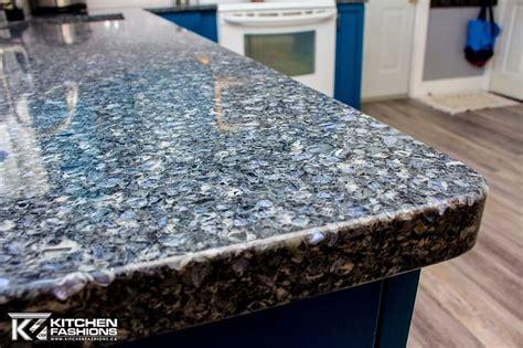 kitchen fashions cambria quartz  parys gorgeous blue