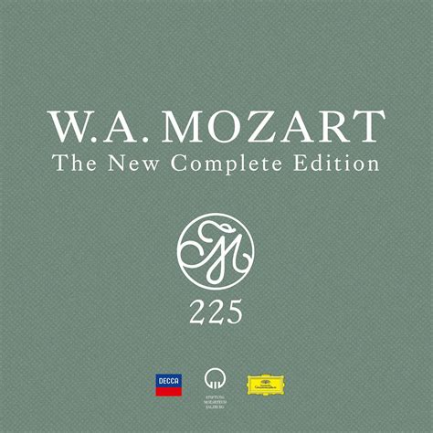 Va Mozart 225 The New Complete Edition 2019 200 Cd
