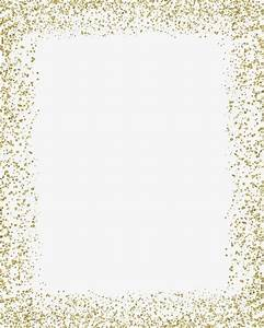 Baby Boy Borders For Invitations Color Border Gold Glitter Background Boy Shower