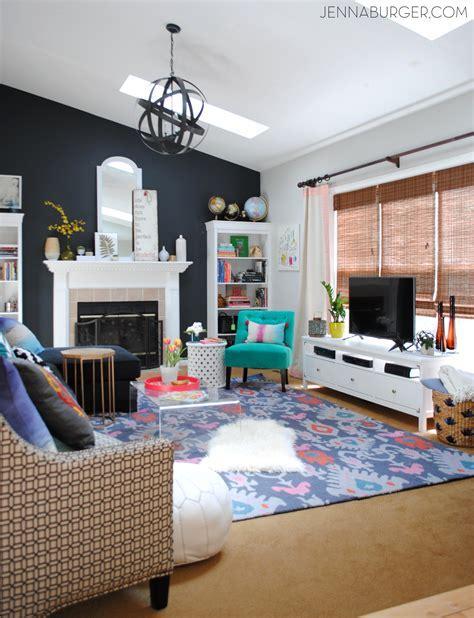Living Room Makeover {Reveal}   Jenna Burger