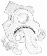 Oubliette Mortasheen Golem Sketch Humanoid Bogleech sketch template