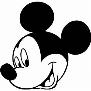 Back pics for mickey mouse clip art black and white ...