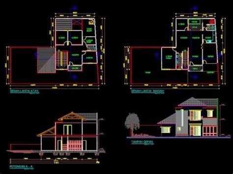 tutorial membuuat denah rumah sederhana menggunakan