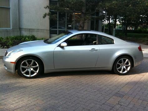 2003 Infiniti G35 Coupe Silver 87,000kms