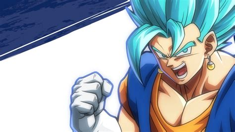 dragon ball fighterz ssgss vegito wallpapers hd