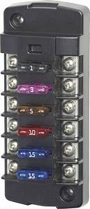 St Blade Fuse Block - 6 Independent Circuits