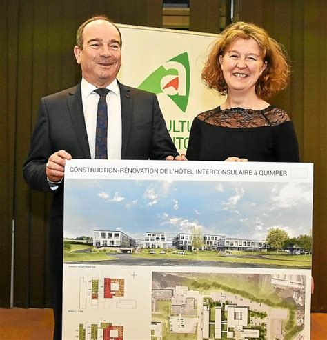 chambre des metiers finistere hôtel interconsulaire livraison prévue en 2020 quimper