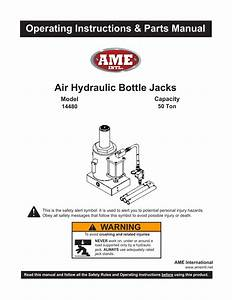 Hydraulic Bottle Jack Replacement Parts