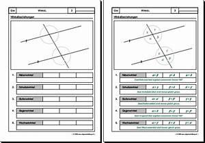 Winkel Berechnen übungen Mit Lösungen : mathematik geometrie arbeitsblatt winkel ~ Themetempest.com Abrechnung