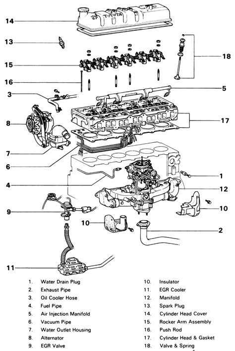 22re intake manifold diagram car interior design