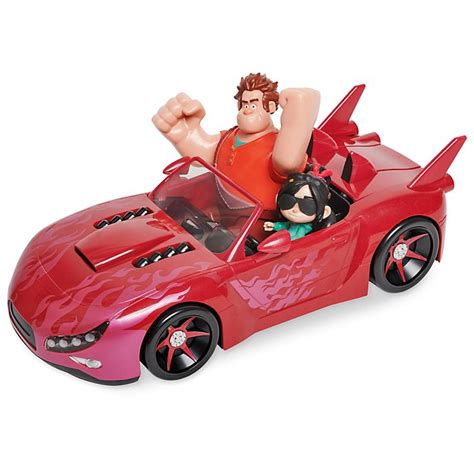Race Car Wreck by Disney Store Wreck It Ralph 2 Slaughter Race Vehicle