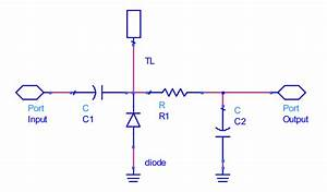 Schematic Diagram Of Schottky Diode Based Power Detector