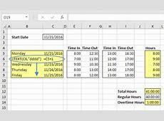 Excel Formulas For Dates