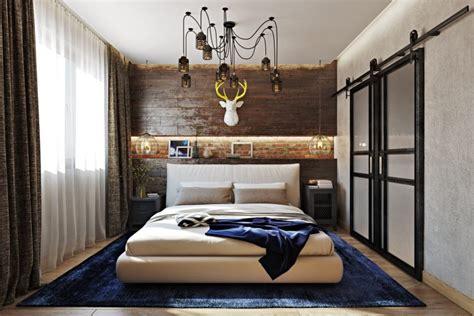 rustic bedroom bold industrial meets rustic bedroom decor digsdigs Industrial