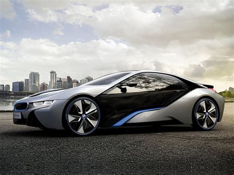 BMW Car : 2011 Bmw I8 Concept Car Desktop Wallpapers, Features
