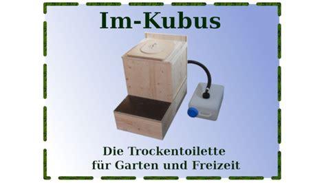 Komposttoilette Selber Bauen, Im-kubus Der Einfache