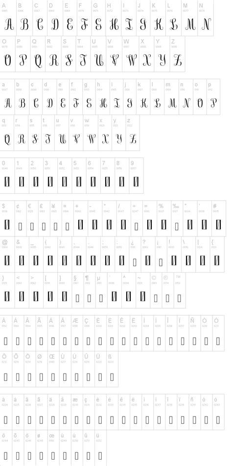 monogram font dafontcom