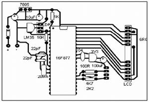 Transmitter  U0026 Receiver Circuit Printing Layout