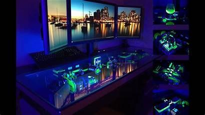 Desk Pc Cooling Computer Cooled Custom Liquid