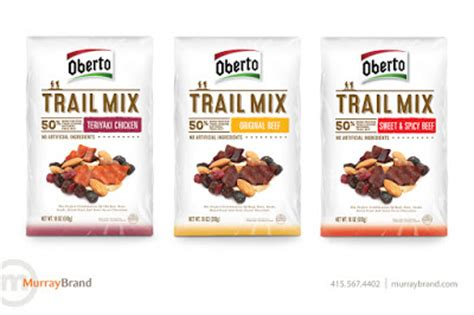 Oberto Trail Mix on Packaging of the World - Creative ...