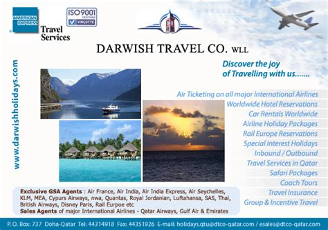 Travel Agents In Doha Qatar Tourism Companies In Doha