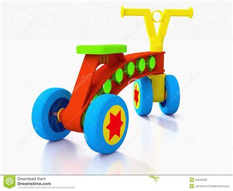 siege bébé velo vélo à quatre roues de jouet d 39 enfants illustration stock